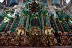 Mártir ortodoxos de Lituânia três Fotografia de Stock
