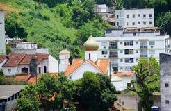 Mártir Zenaida Russian Orthodox Church do St, Rio de janeiro, Brasil Imagem de Stock