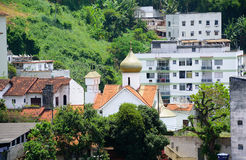 Mártir Zenaida Russian Orthodox Church, Rio de Janeiro, el Brasil del St Imagen de archivo
