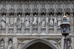 Mártires modernos en la abadía de Westminster Fotos de archivo libres de regalías