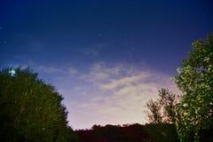 Más allá de las estrellas foto de archivo