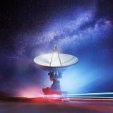 Más allá de las estrellas Imagenes de archivo