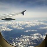 Más arriba que las montañas Fotos de archivo libres de regalías