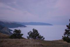 Más arriba que las nubes Fotografía de archivo libre de regalías