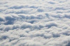 Más arriba que las nubes Sobre las nubes Fotos de archivo