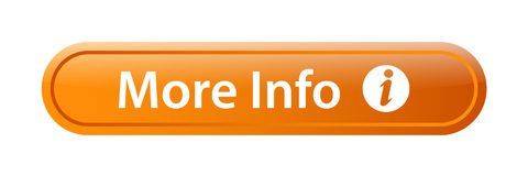 Más botón del web del icono de la información libre illustration