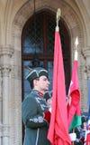Más gonfalonier húngaro Foto de archivo