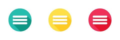 Más icono en fondo amarillo y rojo verde con efecto de sombra largo Diseño simple, estilo sólido/del glyph de los iconos para el  libre illustration