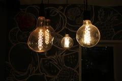 Más luces del arte en café Imagenes de archivo