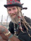 Más viejo caballero excéntrico Foto de archivo libre de regalías