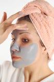 Máscara #19 da beleza imagens de stock