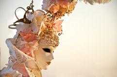 Máscara 2012 del carnaval de Venecia Fotos de archivo libres de regalías