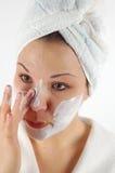 Máscara #21 de la belleza Foto de archivo libre de regalías
