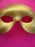 Máscara 4 del oro imágenes de archivo libres de regalías