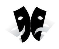 Máscara ilustração royalty free