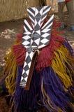Máscara africana Fotos de archivo libres de regalías