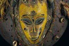 Máscara africana fotos de archivo