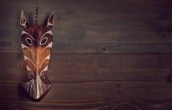 Máscara africana Foto de archivo