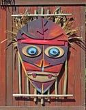 Máscara africana. Foto de archivo