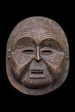 Máscara africana antiga fotografia de stock royalty free