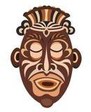 Máscara africana del Papuan Fotos de archivo libres de regalías