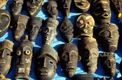 Máscara africana na exposição Imagem de Stock Royalty Free