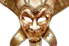 Máscara alegre veneciana Fotografía de archivo