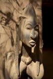 Máscara & arte -final africanas fotografia de stock