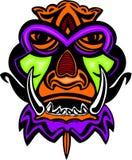 Máscara antigua. Imagen de archivo libre de regalías