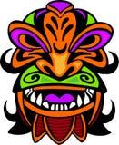 Máscara antigua. ilustración del vector
