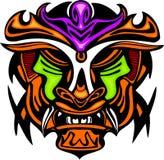 Máscara antigua. stock de ilustración