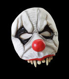 Máscara asustadiza aislada de Víspera de Todos los Santos Foto de archivo