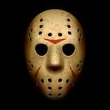 Máscara asustadiza del hockey Imagenes de archivo
