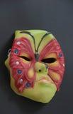 Máscara asustadiza para el partido, festival Fotografía de archivo
