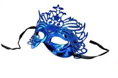 Máscara azul Imagenes de archivo