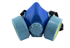 Máscara azul Fotos de archivo