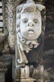 Máscara barroca en Catania Sicilia Foto de archivo