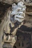 Máscara barroca en Catania Sicilia Imágenes de archivo libres de regalías