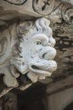 Máscara barroca en Catania Sicilia Imagenes de archivo