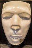 Máscara blanca Fotos de archivo libres de regalías