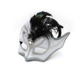 Máscara blanca y negra Imagen de archivo
