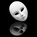 Máscara branca Imagem de Stock