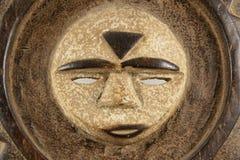 Máscara ceremonial de Sun, detalle horizontal Foto de archivo libre de regalías
