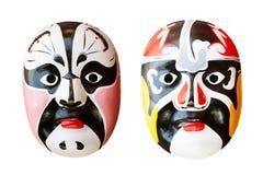 Máscara chinesa da ópera Foto de Stock Royalty Free