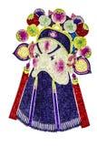 Máscara chinesa da ópera da tradição Fotografia de Stock