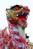 Máscara chinesa do dragão Fotografia de Stock