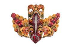 Máscara cingalesa do pássaro Imagem de Stock
