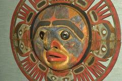 Máscara colorida foto de archivo