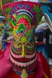 Máscara colorida Fotos de Stock