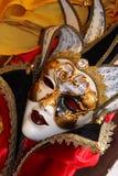 Máscara colorida tradicional de Veneza Fotos de Stock Royalty Free